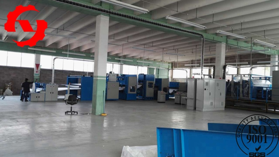 Geotextile Non Woven Textile Fabric Making Machine 5m With High Speed